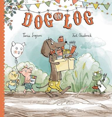Dog on Log by Tania Ingram