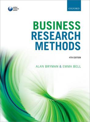 Business Research Methods by Alan Bryman