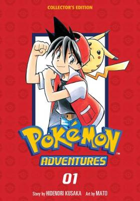 Pokemon Adventures Collector's Edition, Vol. 1 by Hidenori Kusaka