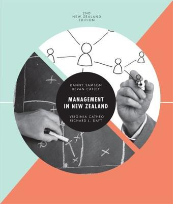 Management in New Zealand with Online Study Tools 12 months by Danny Samson