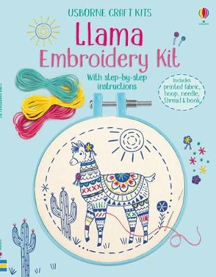 Embroidery Kit: Llama by Lara Bryan