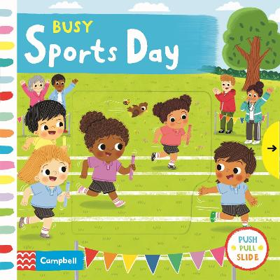 Busy Sports Day book