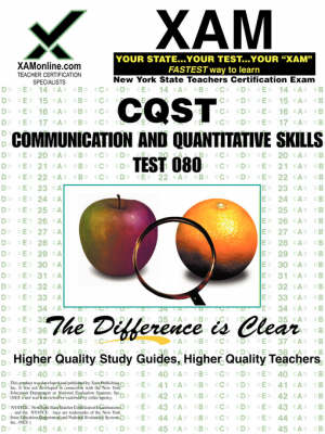 NYSTCE CQST Communication and Quantitative Skills Test 080 by Sharon A Wynne