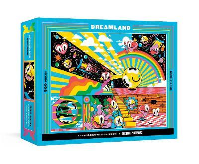 Dreamland: A 500-Piece Jigsaw Puzzle & Stickers by Hattie Stewart