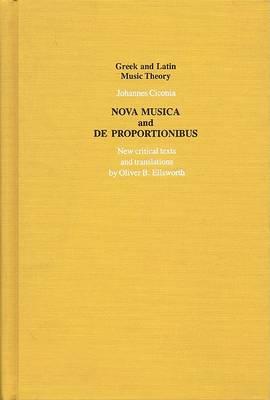 """Nova Musica"" and ""De Proportionibus"" by Johannes Ciconia"