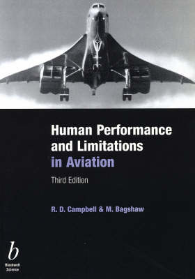 Human Performance and Limitations in Aviation by R. D. Campbell