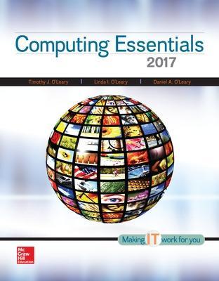 Computing Essentials 2017 book