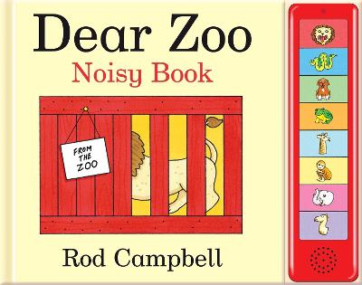 Dear Zoo Noisy Book by Rod Campbell
