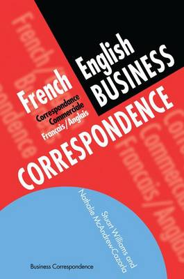 French/English Business Correspondence book
