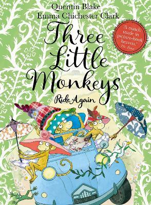 Three Little Monkeys Ride Again book
