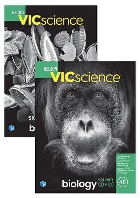 Bundle: Nelson Biology VCE Units 3 & 4 Student Book with 1 Access Code  + Nelson Biology VCE Skills Workbook Units 3 & 4 + Nelson Biology VCE  Logbook by Sarah Jones