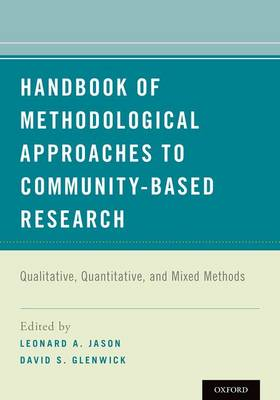 Handbook of Methodological Approaches to Community-Based Research book