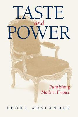 Taste and Power book