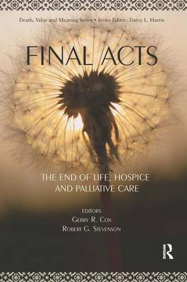 Final Acts by Gerry R. Cox