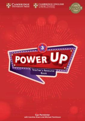Power Up Level 3 Teacher's Resource Book with Online Audio by Sue Parminter
