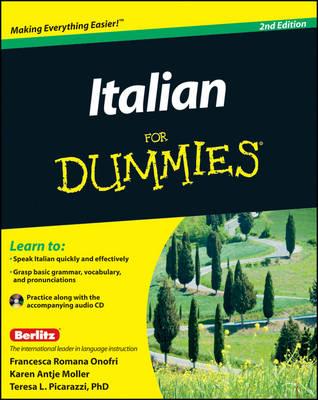 Italian For Dummies by Teresa L. Picarazzi