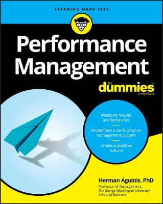 Performance Management For Dummies by Herman Aguinis