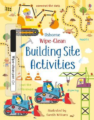 Wipe-Clean Building Site Activities by Kirsteen Robson