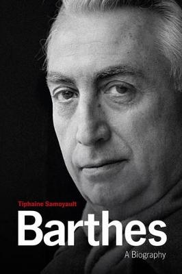 Barthes - a Biography book