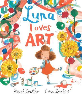 Luna Loves Art book
