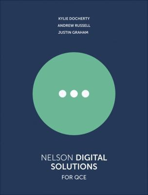 Nelson Digital Solutions for QCE Units 1'4 Student Book with 1 Access Code for 26 Months by Kylie Docherty