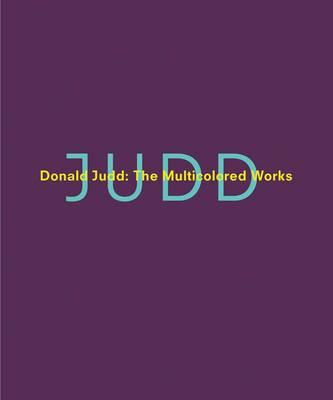 Donald Judd by Marianne Stockebrand