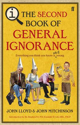 QI: The Second Book of General Ignorance by John Mitchinson