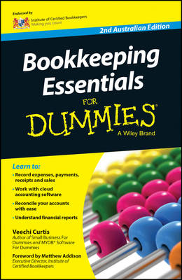 Bookkeeping Essentials For Dummies - Australia book