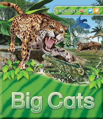 Explorers: Big Cats by Claire Llewellyn