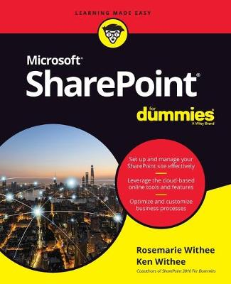 SharePoint For Dummies book