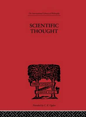 Scientific Thought by C. D. Broad
