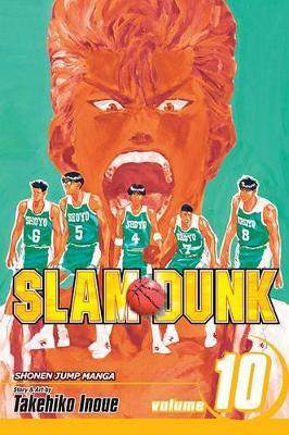 Slam Dunk, Volume 10 by Takehiko Inoue