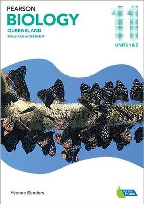 Pearson Biology Queensland 11 Skills and Assessment Book by Yvonne Sanders