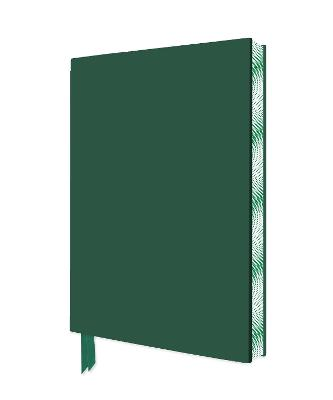 Racing Green Artisan Notebook (Flame Tree Journals) by Flame Tree Studio