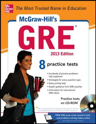 McGraw-Hill's GRE with CD-ROM, 2013 Edition by Steven Dulan