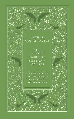 Greatest Cases of Sherlock (Faux Leather edition) by Arthur Conan Doyle