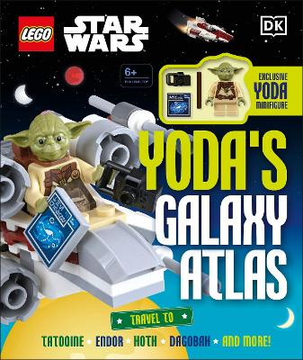 LEGO Star Wars Yoda's Galaxy Atlas book