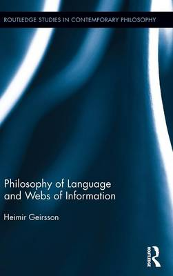 Philosophy of Language and Webs of Information book