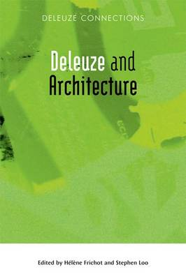 Deleuze and Architecture by Helen Frichot