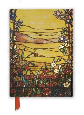 Tiffany: Red Flowers and a Stream (Foiled Journal) by Flame Tree Studio