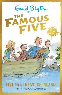 Famous Five: Five On A Treasure Island book