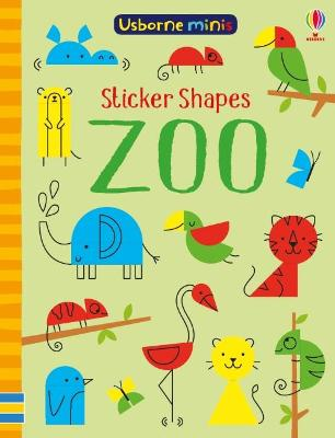 Sticker Shapes Zoo by Smith