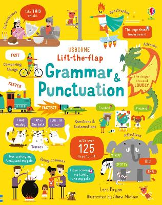 Lift-the-Flap Grammar and Punctuation by Lara Bryan