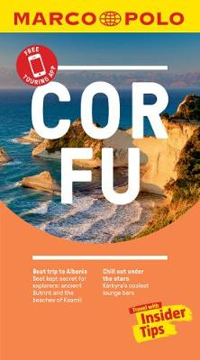 Corfu Marco Polo Pocket Travel Guide 2018 - with pull out map book