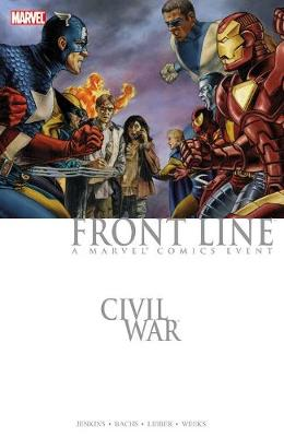 Civil War: Front Line by Paul Jenkins
