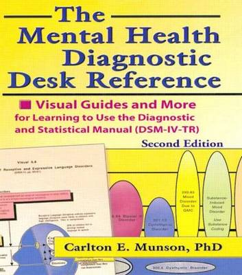 The Mental Health Diagnostic Desk Reference by Carlton Munson