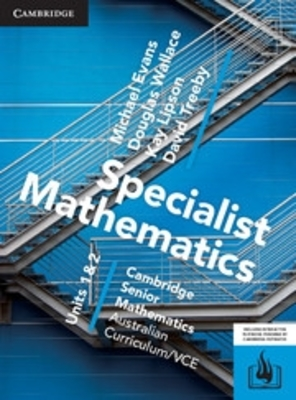 CSM VCE Specialist Mathematics Units 1 and 2 Print Bundle (Textbook and Hotmaths) by Michael Evans