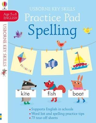 Practice Pad Spelling 5-6 book