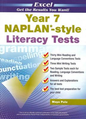NAPLAN-style Literacy Tests: Year 7 book