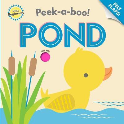 Peek a Boo Felt Flap Book Pond book